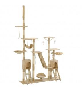 vidaXL Jaula para perros plegable de metal M