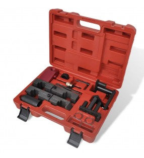 vidaXL Silla de oficina con respaldo de malla y tela gris