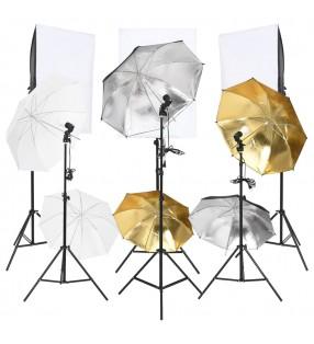 vidaXL Compresor de muelles de válvula 10 piezas Set de herramientas