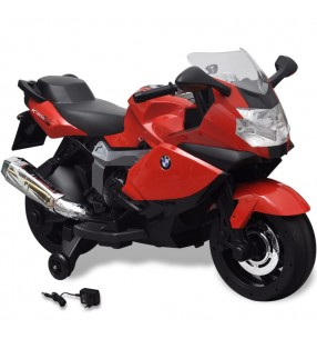vidaXL Coche correpasillos con mango de empuje azul