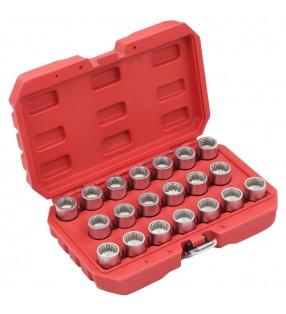 vidaXL Sillón en forma de cubo de cuero sintético negro