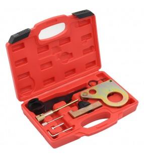 vidaXL Pantalla de proyección manual blanca 200x200 cm