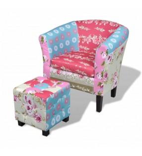 Banco baúl de madera blanca, con cajones / cestas