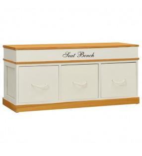 vidaXL Botellero de metal para 28 botellas