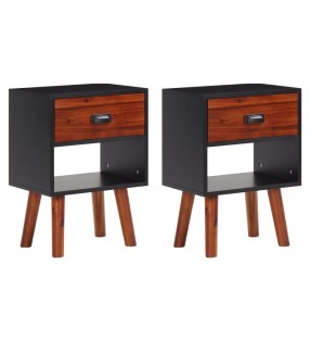vidaXL Estructura de cama de madera de pino maciza 180x200 cm