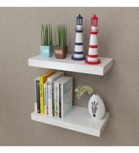 vidaXL Mesa consola con 2 cajones madera maciza de roble 83x30x73 cm