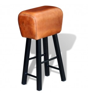 vidaXL Mesita de noche con cajón de madera de teca reciclada