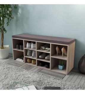 vidaXL Estructura de cama cuero sintético negro 160x200 cm