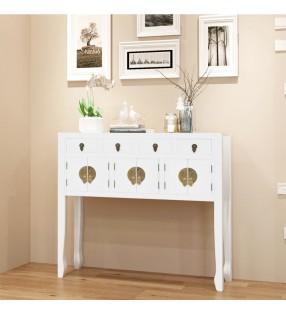 vidaXL Cesto de ropa sucia 3 secciones con cubo de lavado
