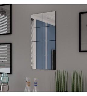 Alfombrilla de baño de bambú 60 x 90 cm marrón oscuro
