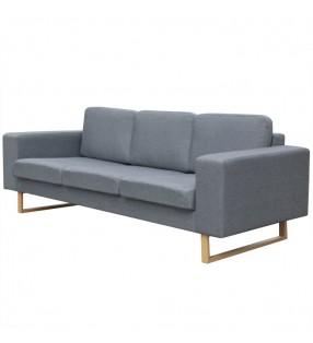 vidaXL Mesita de noche rectangular con 1 cajón marrón
