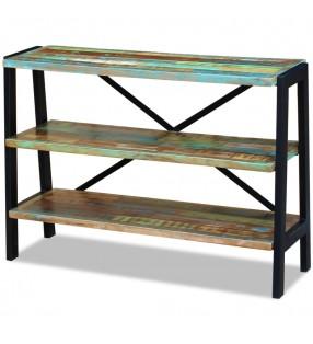 Lámpara estilo industrial estructura de alambre con 4 focos LED negra