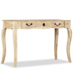 vidaXL Conjunto de Comedor 1 Mesa y 6 Sillones Siete Piezas de Color Negro