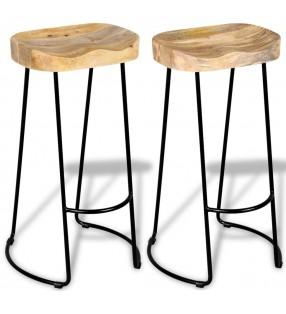 vidaXL Conjunto de mesas y sillas de comedor de cinco